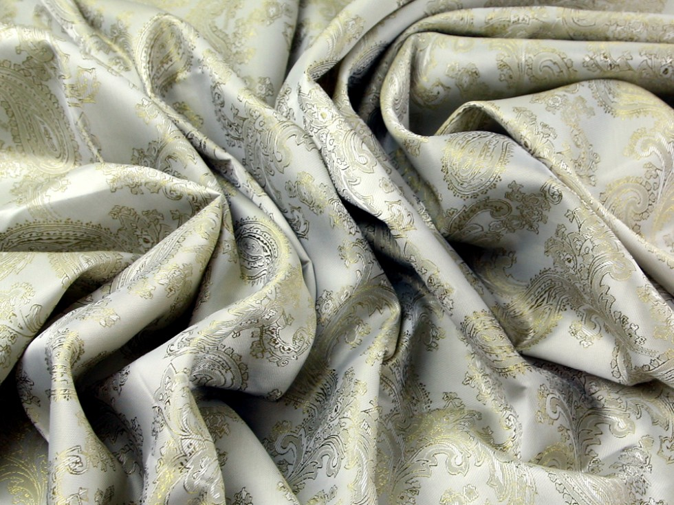 Paisley weave jacquard lining fabric c6340 m for Lining fabric