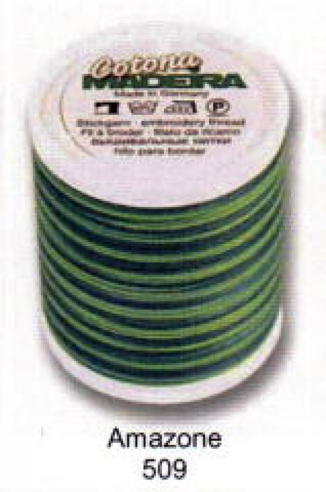 rayon madeira machine embroidery thread