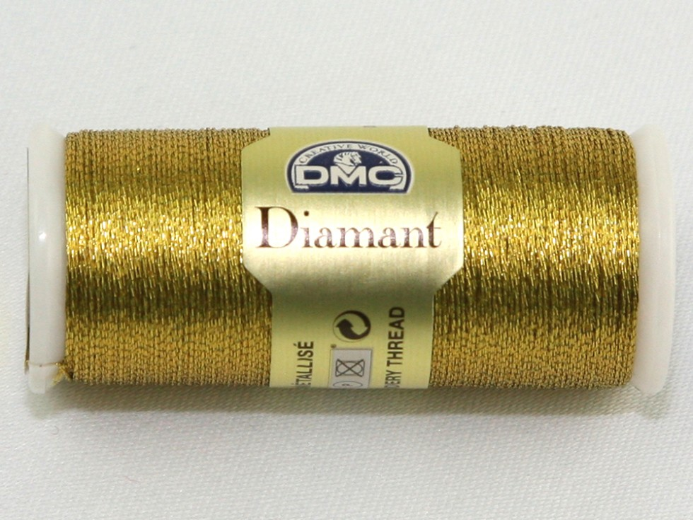 Dmc diamant metallic embroidery thread per spool d m