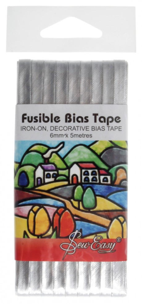 sew easy fusible iron on bias binding tape per pack. Black Bedroom Furniture Sets. Home Design Ideas