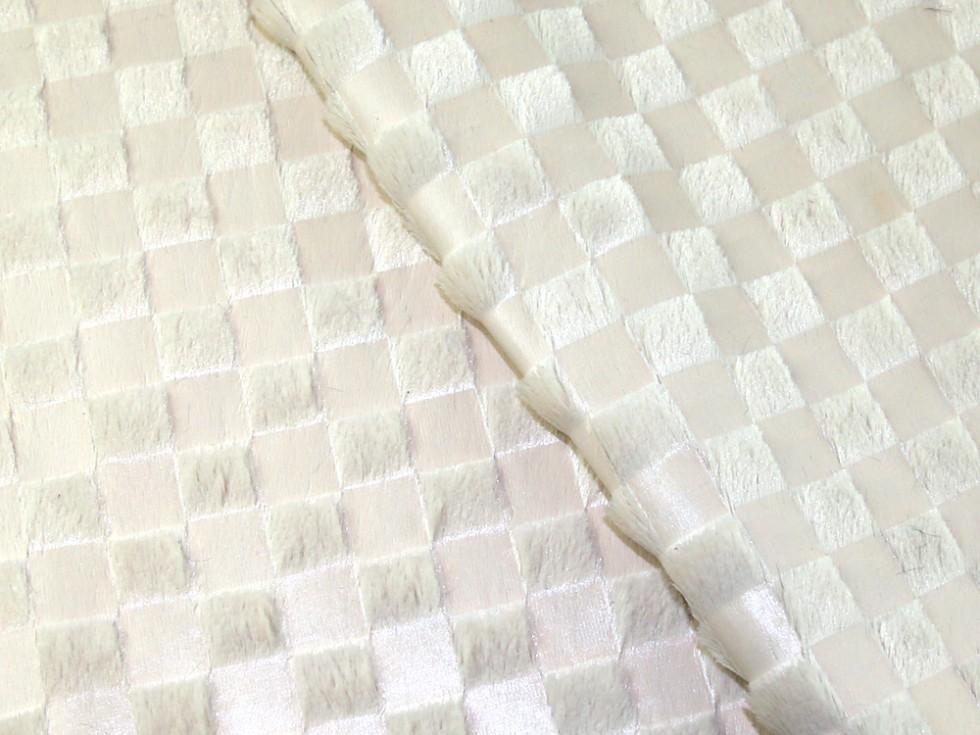 Geometric-Square-Print-Luxury-Fur-Dress-Fabric-MV-AW132-Black-M