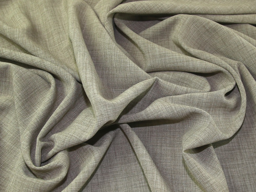 Linen Look Polyester Crepe Soft Suiting Dress Fabric